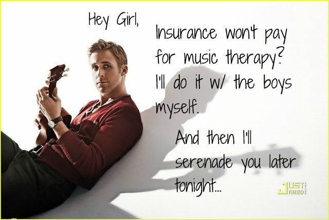 Ryan Gosling Music Therapy