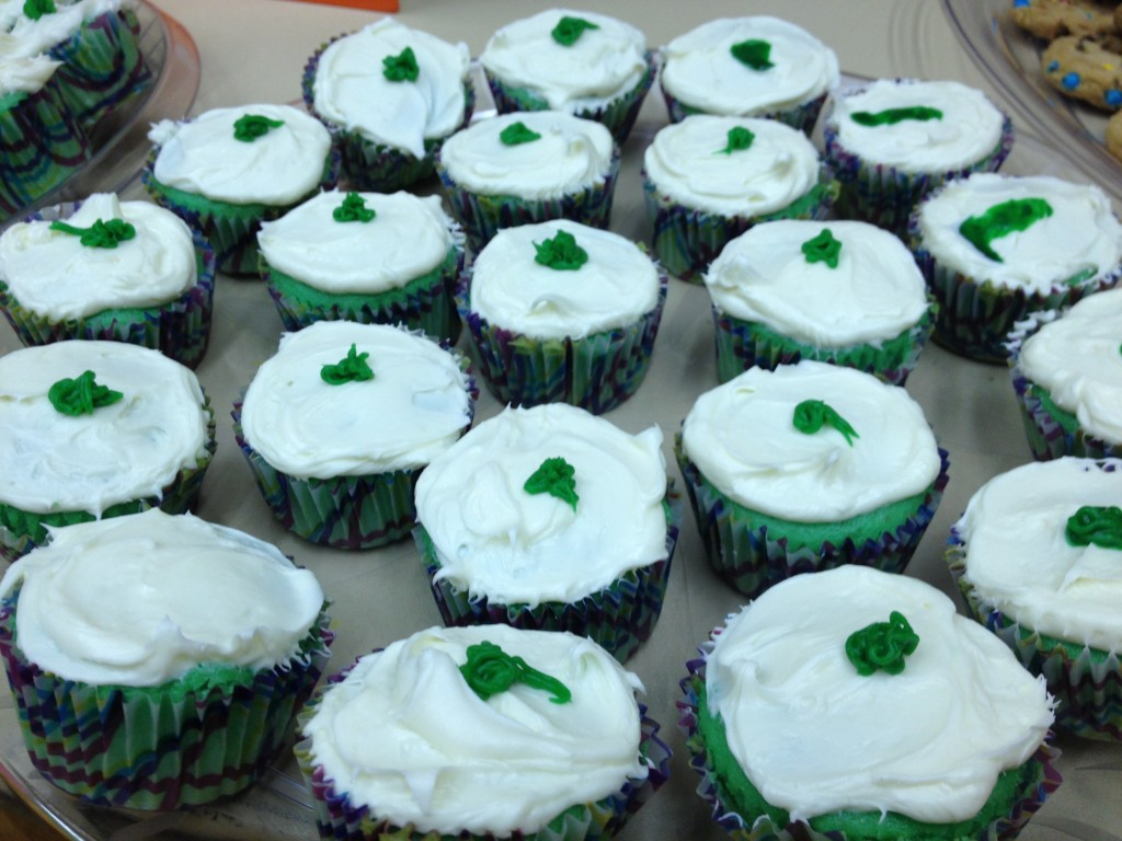 green eggs and ham cupcakes