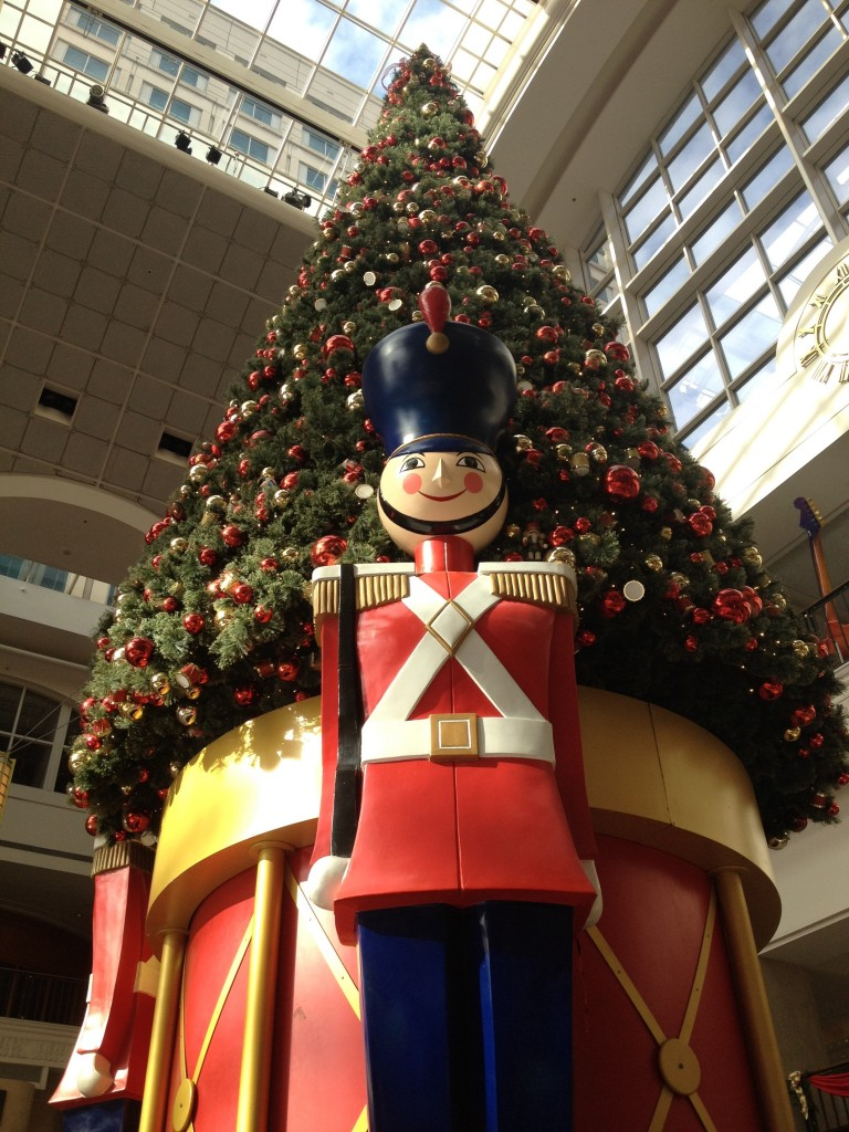mall Christmas decorations
