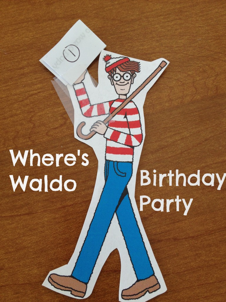 Where's Waldo Party - Musings of a Marfan Mom